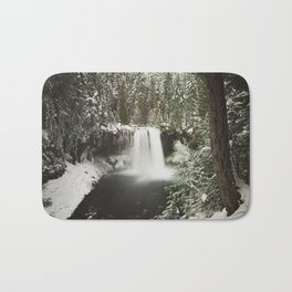 Winter Wanderlust Waterfall Bath Mat