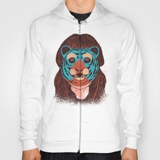 Tiger Face Hoody