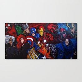 Fan Art Canvas Print