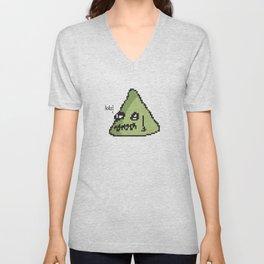 MsPaint Blob Print & Tshirt Unisex V-Neck