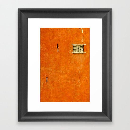 Castle Wall Framed Art Print