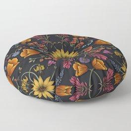PNW Wildflowers of Washington & Oregon Floor Pillow