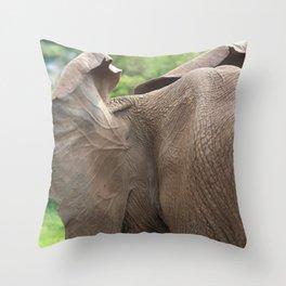 Elephant ears Throw Pillow