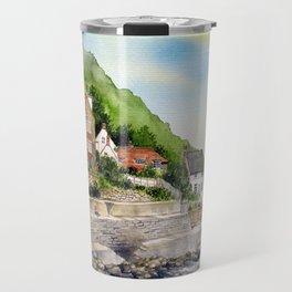 Summer in Runswick Bay Travel Mug