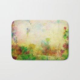 Ginkelmier Land ~ Watercolor Fairy Garden Bath Mat