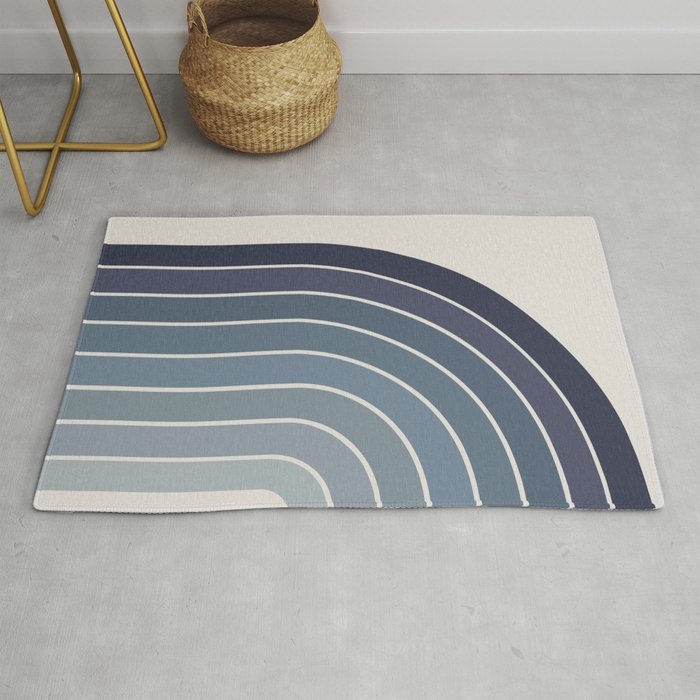 Gradient Arch - Blue Tones II Rug