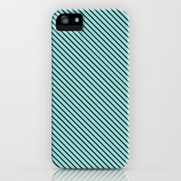 Limpet Shell and Black Stripe iPhone Case