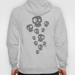 Skulls - grey Hoody