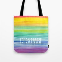 dreamer Tote Bags featuring Dreamer by micklyn