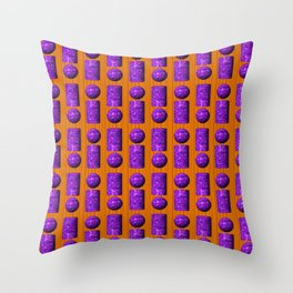 Many -i- ... Throw Pillow