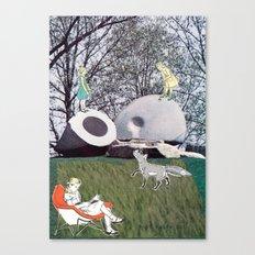 Croquette Canvas Print