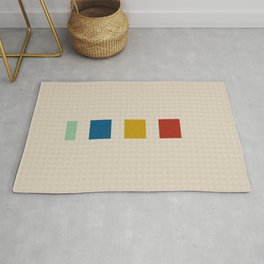 four elements || tweed & primary colors Rug