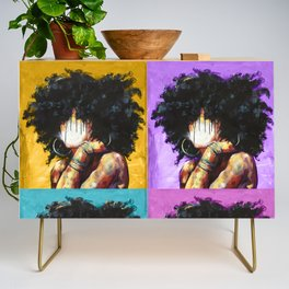 Naturally II Colors Credenza