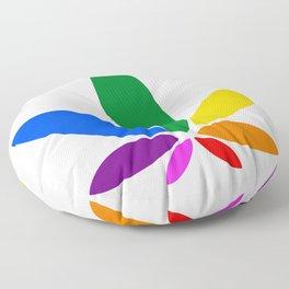 Magic Leaf Floor Pillow