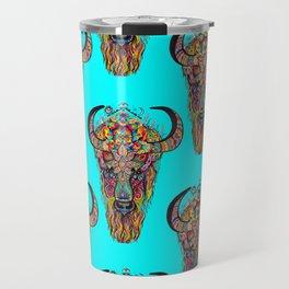 Body of Bison-Spirit of Dragon  Travel Mug