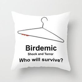 Birdemic: Shock and Terror Throw Pillow