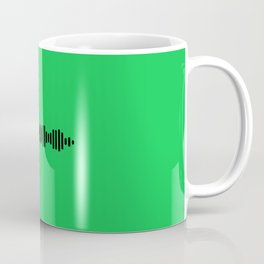 Green Spotify Coffee Mug