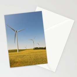 Technology and nature Stationery Cards