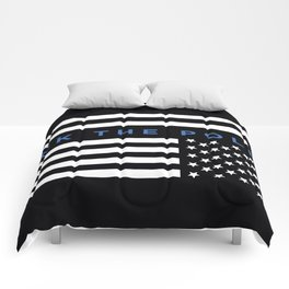 Fuck the Police American Flag Comforters