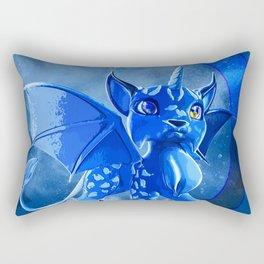 Vampire Cat Unicorn Rectangular Pillow