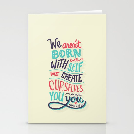 You make you Stationery Cards