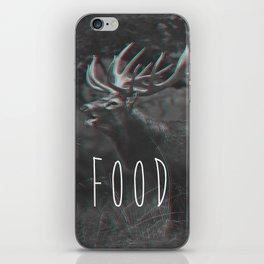 deer food iPhone Skin