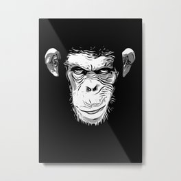 Evil Monkey Metal Print