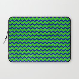 Chevron Glitter Pattern 01 Laptop Sleeve