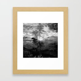 And With the Trees... Framed Art Print