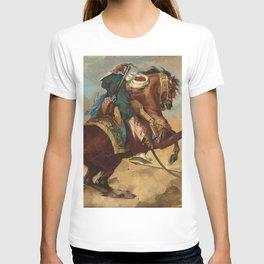 """Théodore Géricault """"Turc monté sur un cheval alezan brûlé"""" T-shirt"""