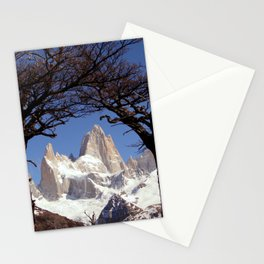 Fitz Roy Mountain Landscape (Patagonia, South America) Stationery Cards