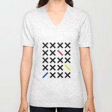 Minimalism 3 Unisex V-Neck