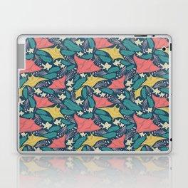 Manta Ray And Fish Pattern Laptop & iPad Skin