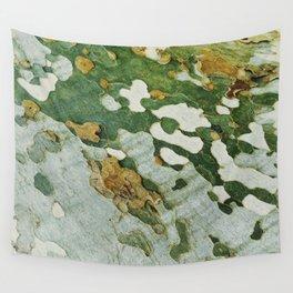Green Bark Wall Tapestry
