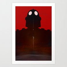 Iron Red Art Print
