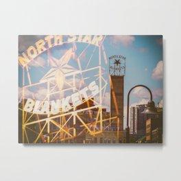 North Star Blankets Metal Print