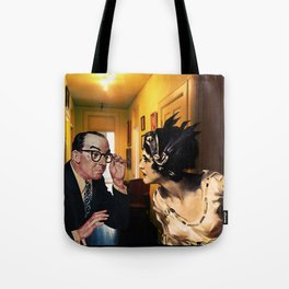 Have We Met Before? Tote Bag