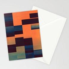 glytch hyryzyn Stationery Cards