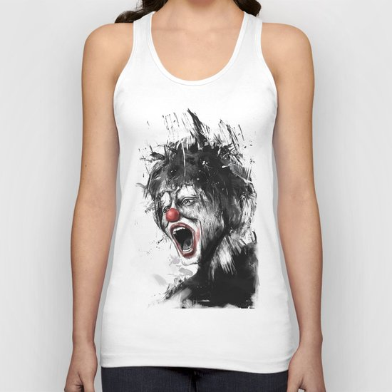 The clown Unisex Tank Top