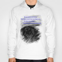 pitbull Hoodies featuring Pitbull Respect by DraconianBriana