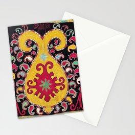 Lakai Tribal Nomad Antique Uzbekistan Horse Cover Print Stationery Cards