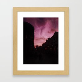 Calm After Mardi Gras Framed Art Print