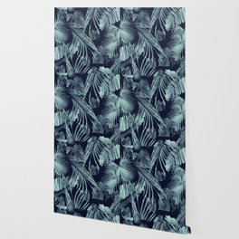 Tropical Jungle Leaves Dream #9 #tropical #decor #art #society6 Wallpaper