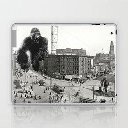 King Kong in Detroit 1907 Laptop & iPad Skin
