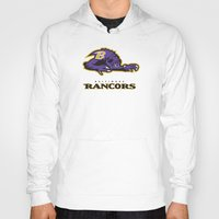 nfl Hoodies featuring Baltimore Rancors - NFL by Steven Klock