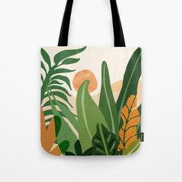 Desert Garden Sunset Tote Bag