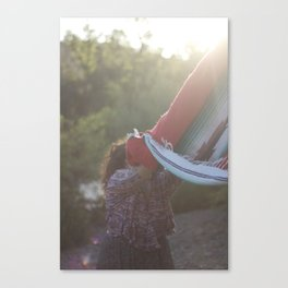 shake it out Canvas Print