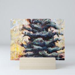 Route to Happiness Tree Mini Art Print