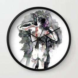 Ink men Wall Clock