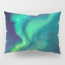 Aurora Borealis Lights Up the Sky (Northern Lights) Pillow Sham